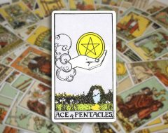 Ace of Pentacles — Туз Пентаклей