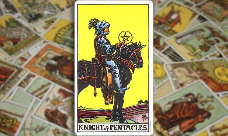 Knight of Pentacles - Рыцарь Пентаклей